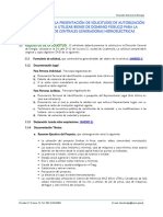 SOLICITUDES DE BIENES DE DOMINIO PUBLICO