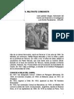 Pablo Neruda, militante comunista