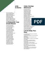 Cantos de Guatemala