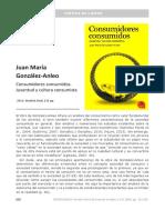 Reseña Libro Consumidores Consumidos