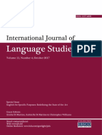 Volume 11 Number 4 -Special Issue on ESP