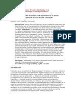 Características Individuales y de La Estructura Familiar de Un