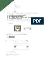 Análisis Campos Trama Ethernet e Ip