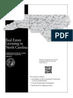 Real Estate Licensing