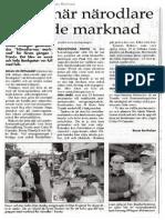 Närodlarnas Marknad Artikel TP 100804