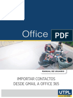 Import Ar Contact Os Gmail Office 365