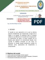 Expocicon Hidrobiologicos - Secado Del Pescado
