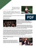 Música Instrumental Religiosa Popular Folklorica Etc