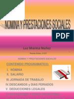 Presentacion Taller Nomina y Prestaciones Sociales 2017 (1)