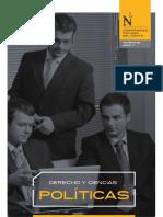 Brochure Derecho Ciencias Politicas