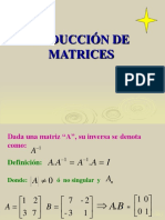 11. Matrices (Matriz Inversa)