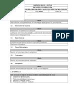 Guia Para Presentación Del Proyecto o Trabajo de Investigación Versión 30