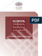 School violence, bullying, and abuse