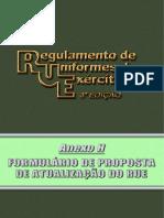 RUE - Anexo H - Formulário Proposta Atualização e tals