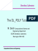 Dlpoly.tutorial