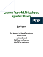 Uryasev - Cvar Metodology and Application