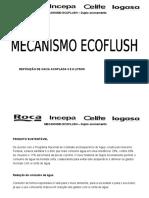 Ecoflush 3 e 6 Litros Subst CX Acoplada