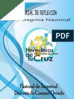 Material de La Cruz Peregrina Nacional