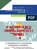 El Desarrollo de La Economia Matematica y Empirica Cuarta Exosicion