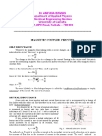 Magnetic Coupled Circuits