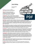 Principles of Academic Writing