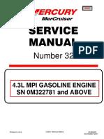 ServiceManual Number 32 4.3L MPI MerCruiser2001 2008