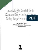 Psicologia Social Del Turismo