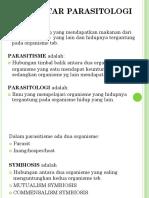 2. a. Pengantar Parasitologi