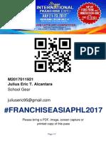 Franchise Expo Pass Julius