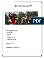 Danza Folklorica huaconada