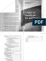 Cómo Se Clasifican Las Palabras -Giammateo-Albano