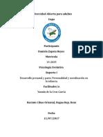 Tarea I Psicologia Ev. Daniela Zapata R...