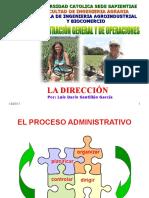 F. Dirección y Control