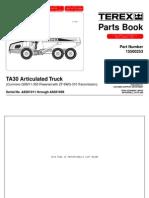 TA-30 - Parts Book