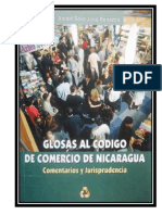 Código de Comercio de Nicaragua (Comentado y Concordado 329p)