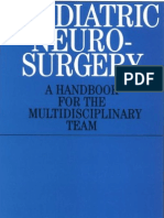 Handbook of Paediatric Neurosurgery