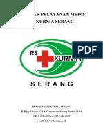 Standar Pelayanan Medis Cover