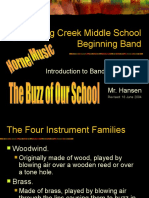 Introduction to Band Instruments