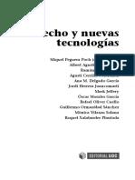 Derecho y Nuevas Tecnologías