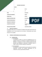 INFORME PSICOLÓGICO de Machover Miguel Pineda