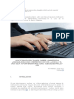Procedimiento Administrativo Notificacion Electronica