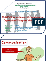 Verbal and Non Verbal Communication; Organizational Change and Work Motivation.pptx