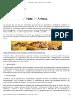 7ª Aula Prática – Parte I – Amidos – BOX3 – Dietética