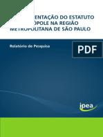 Relatorioimplementacao-estatutometrópoleSP
