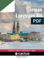 Booklet Language Kit German