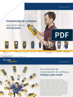 FLUKE NETWORKS Catalogo Soluciones Folleto General