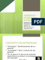 Gerencia y Planeacion Estrategica (Fundamentos)
