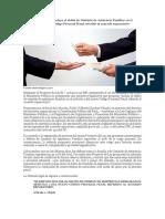 Proyecto de Ley Que Incluye El Delito de Omisión de Asistencia Familiar en El Artículo 2 Del Nuevo Código Procesal Penal Referido Al Acuerdo Reparatorio