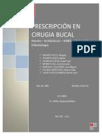 Prescripcion en Cirugia Bucal Expo