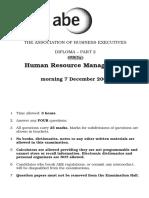 HRM December 05